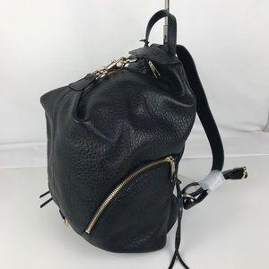Rebecca Minkoff Julian Black Leather Backpack